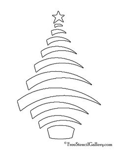 Ideas christmas tree drawing holiday crafts for 2019 Christmas Tree Stencil, Christmas Tree Coloring Page, Christmas Tree Template, Christmas Tree Drawing, Christmas Tree Images, Christmas Tree Pattern, Colorful Christmas Tree, Christmas Tree Toppers, Holiday Tree