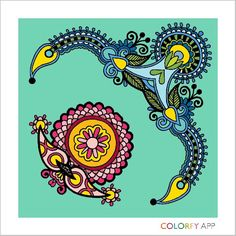 The 35 Best I Love To Color Images On Pinterest