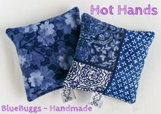 Hot Hands Heat Packs - Moody Blues - Lavender - Set of 2 by BlueBuggs-Handmade, $16.00 AUD