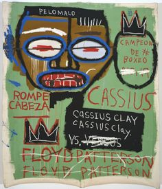 Jean-Michel Basquiat - Underground Art - Urban Art - Neo-Expressionism - Opening at gagosian gallery 03 Jean Michel Basquiat Art, Jm Basquiat, Graffiti, Banksy Art, Keith Haring, Andy Warhol, Robert Rauschenberg, Basquiat Paintings, Radiant Child