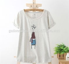 Whosesale Cartoon Anime Scarves deer Bud Silk Cotton T-shirt, View Cotton T-shirt, donnatoyfirm Product Details from Guangzhou Donna Fashion Accessory Co., Ltd. on Alibaba.com
