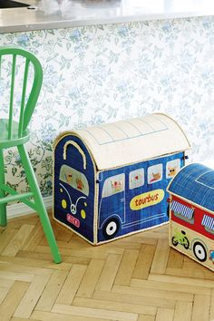 Kids storage boxes in raffia - RICE AW13