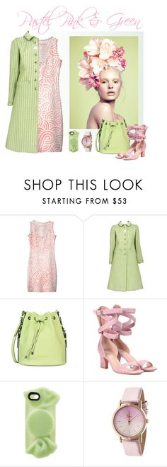 Pastel Pink & Green spring woman outfit by @savousepate on @polyvore