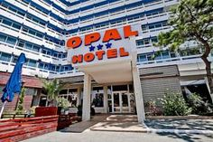 Situated 50 metres from the sandy beach of Cap Aurora, next to Jupiter seaside resort, Hotel Opal features rooms with cable TV and a balcony. Seaside Resort, Romania, Opal, Hotels, Beach, Outdoor Decor, The Beach, Opals, Beaches