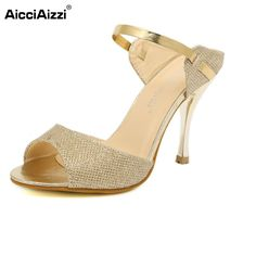 High Heels Sandals slippers Ankle-Wrap Women Sandals Beautiful Ladies Sandals Summer Shoes Gladiator Heels Size 35-39 PA00735