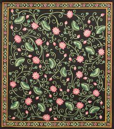 Traditional Folk Sharad With Lotus – Artisera Lotus Painting, Peacock Painting, Music Painting, Cow Painting, Online Painting, Paintings Online, Fabric Painting, Pichwai Paintings, Indian Art Paintings