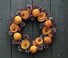 Real fresh Christmas door wreaths availalble online from our Christmas tree shop. Made from dried orange and white pone cones. Contemporary yet modern, a truly luxurious real Christmas wreath. Traditional Christmas Tree, Real Christmas Tree, Christmas Door Wreaths, Natural Christmas, Christmas Crafts, Christmas Pine Cones, Traditional Decor, Christmas Christmas, Deco Orange