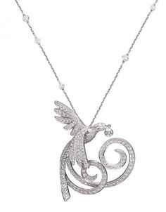 """Bird of Paradise pendent by Van """"Cleef Arpels""""     Hmmm €30,000 is cheap don't you think :/"""