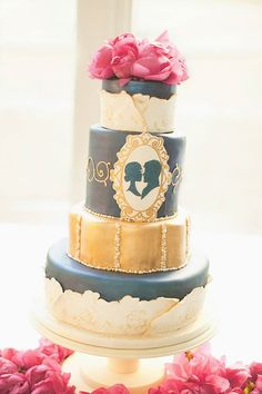 Absolutely Love These Wedding Cake Ideas - Cake: The WOW Factor Cakes