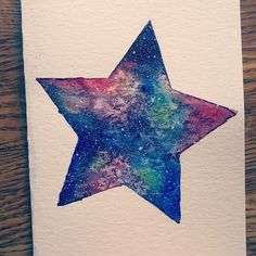 Tumblr, I Tattoo, Galaxy Tattoos, Space Tattoos, Sky, Watercolor, Tattoo Ideas, Universe, Painting