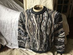 COOGI Mens 3D Sweater Authentic Mercerized Cotton Made In AUSTRALIA SZ M Sexy!!!  | eBay