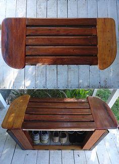 Jeff Casper Reclaimed Shipwreck Furniture