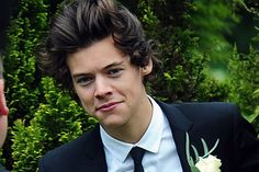Harry Styles interview on girlfriend and his speech at mum's wedding