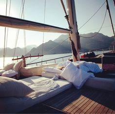 #sailboat #summer #bed