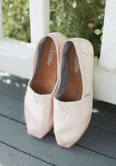 eff34f8a6603 Lovely Texas Church Wedding. Toms Shoes ...
