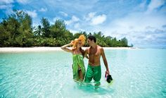 6 Day Cook Islands Honeymoon incl. hotel, tours, bkfst, and much more.  Travelscene.com