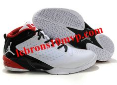 sports shoes 7a2e5 a67ed Air Jordan Fly Wade 2 Basketball Shoes White Varsity Red-Black features an  asymmetrical ankle collar that is cut low on the lateral side and high on  the ...