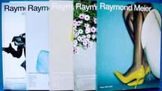 Raymond Meier: set of five glossy books of editorial photography