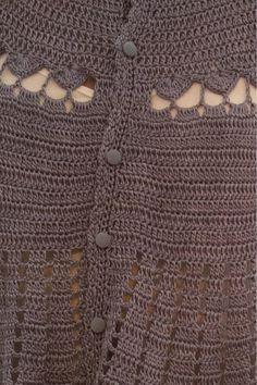 Casaco Crochet Sienna - Vanessa Montoro - vanessamontoro