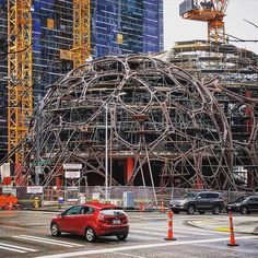 More action to come from #Seattle - as team members stretch into more and more cities.  The @amazon spheres  are coming to life! What a phenomenal addition to the #city furthermore a #livework space for all types of creatives.  @jrstudious