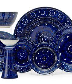 """scandinaviancollectors:"""" ULLA PROCOPÉ, Valencia table ware by Arabia Oy, Finland, Stone ware."""