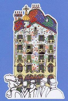 Marina García Gurevich Kandinsky, 3rd Grade Art Lesson, Spanish Culture, Antoni Gaudi, Painter Artist, Arts Ed, Fun Projects, Art Lessons, Amazing Art