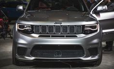 2018 Jeep Grand Cherokee Trackhawk – Official Photos and Info Srt8 Jeep, Jeep Wrangler Lifted, Lifted Jeeps, Jeep Wranglers, Grand Cherokee Trailhawk, 2017 Jeep Grand Cherokee, Jeep Grand Cherokee Accessories, Best Car Insurance, Jeep Accessories
