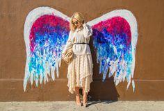 wings mural LA - Google Search