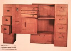 Eileen Gray architect cabinet, Irish designer and architect
