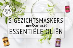5 gezichtsmaskers maken met essentiële oliën