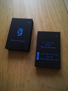 alexis gayraud - my personal logo / branding / business cards - ux/ui & web designer