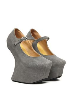 Party No Heel Wedges OASAP.com #fashionheel #cybermonday #eyechaching
