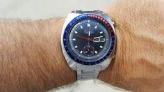 Seiko 6139-6002 serviced by Klein Vintage Watch Repair