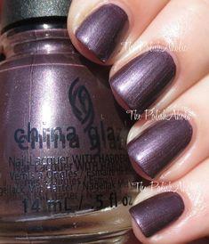 No Peeking!  China Glaze Holiday 2014 Twinkle Collection Swatch
