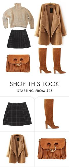 """""""outfit"""" by imnotwhatyouwant on Polyvore featuring moda, Gianvito Rossi, WithChic e J.W. Anderson"""