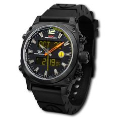 This is my favorite watch in my tactical collection of watches Black Air Stryk Watch by MTM Special Ops