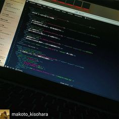 Good job... Go to sleep  @Regrann_App from @makoto_kisohara -  Today go to bed anymore.  #web #website #webdesign #webdesigner #html5 #html #scss #javascript #jquery #webdevelopment #webdeveloper #webdev #design #designer #developer #development #coda #css #coding #markup #mac #macbook #php #rain #amaoto - #regrann