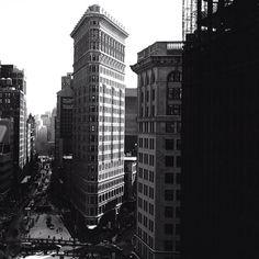 new york city flatiron building