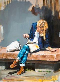 Art i lectura / Arte y lectura / Reading and art / Lecture et art / Lettura e arte / A leitura ea. Reading Art, Woman Reading, Figure Painting, Painting & Drawing, Figurative Kunst, Beautiful Paintings, Oeuvre D'art, Female Art, Book Art