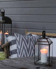 Tine K: n Lantern -lyhdyt Outdoor Living Areas, Outdoor Spaces, Outdoor Decor, Autumn Inspiration, Garden Inspiration, Home Interior Design, Interior Styling, Home Greenhouse, Diy Christmas Gifts For Family