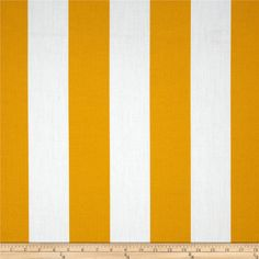 Fabric by the Yard Indoor/Outdoor Citrus Yellow door MyFabricStudio