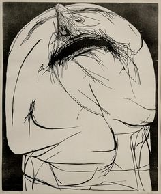 The cry 1960 Leonard Baskin (woodcut)
