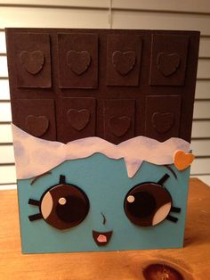 Shopkins cheeky chocolate Had so much fun making this for my bff