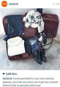 dailylook's travel essentials