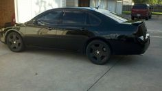 Murdered impala Chevy Impala Ss, Murdered Out, Muscle Cars, Badass, Exterior, Tattoos, Vehicles, Ideas, Cars