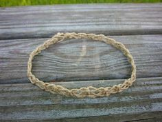 Hey, I found this really awesome Etsy listing at https://www.etsy.com/listing/50721642/macrame-anklet-natural-hemp-anklet