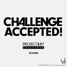 """I am OFFICIALLY CHALLENGING all of my  friends and followers to lose 10 pounds or add 10 pound of muscle on the Project 10 Challenge!  When you do an obese child will be sponsored for a MONTH on your behalf. You get a free T-shirt that says either """"I LOST IT"""" or """"I BUILT IT"""" and a kid wins!!  You also get entered to win 1 of 10 cash prizes of $1,000.00 among many other prizes every week!!   First 4 to accept this Challenge with me get a special bonus!!! (Non current Vi people) HURRY! Send me…"""