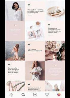 Instagram Design, Flux Instagram, Instagram Feed Theme Layout, Photo Pour Instagram, Instagram Hacks, Canva Instagram, Feed Do Instagram, Insta Layout, Instagram Feed Ideas Posts