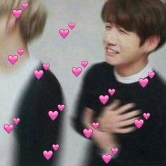 meme do Jungkook-ssi Jimin Jungkook, Kim Taehyung, Bts Aegyo, Seokjin, Hoseok, Namjoon, Kpop, Bts Emoji, Heart Meme