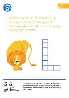 Wil jij oefenen met het herkennen van de letter L? Dit werkblad kan je daarbij helpen. Lees het versje en tel alle letters L. Wil je de letter L ook leren schrijven? Neem dan eens een kijkje bij de andere werkbladen die gaan over de letter L. Zo leer je alle letters van het alfabet!